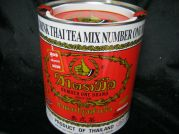 Thai Tea Mix, Number One, schwarzer Tee, Pulver, 450g Dose